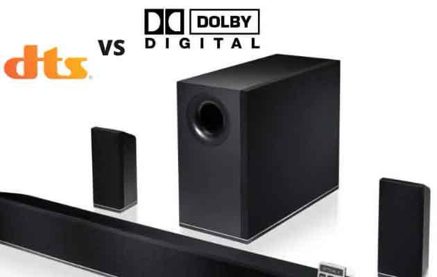 DTS vs.  Dolby Digital: различия