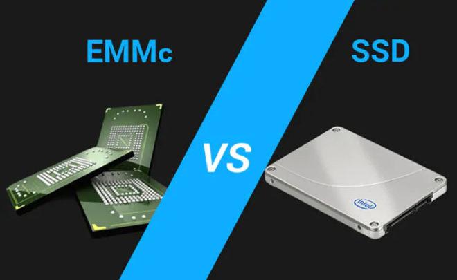 eMMC vs SSD: в чем разница?