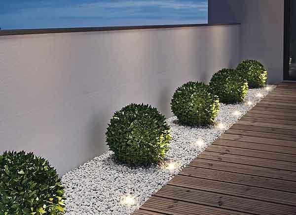 Уличные встраиваемые светодиодные точечные светильники для садового освещения, 7 советов