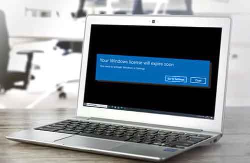 """Решение ошибки """"Срок действия вашей лицензии Windows скоро истечет"""""""