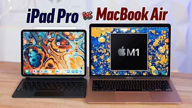MacBook M1 против iPad Pro: более сложный выбор, чем когда-либо