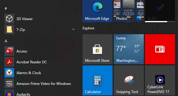 Сбой меню Пуск Windows, 5 решений
