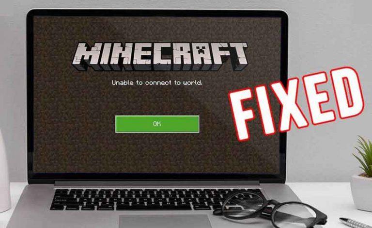 Как исправить, если Minecraft не может подключиться к миру?