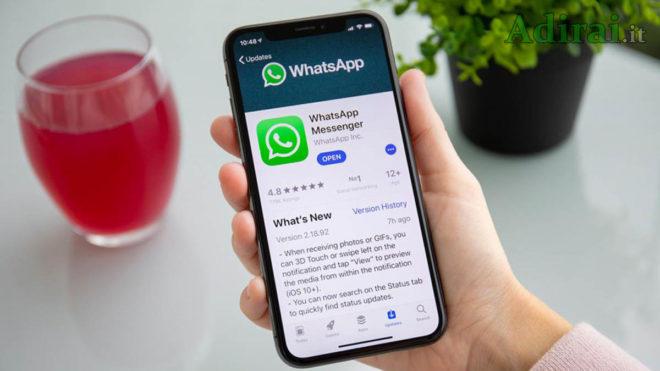 Уведомления WhatsApp не приходят
