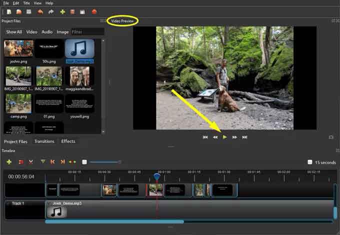 OpenShot Video Editor: с чего начать