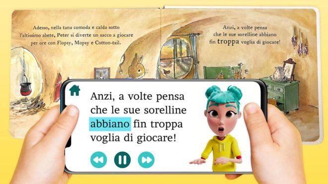 Это StorySign, приложение, использующее искусственный интеллект Huawei для обучения глухих детей чтению.