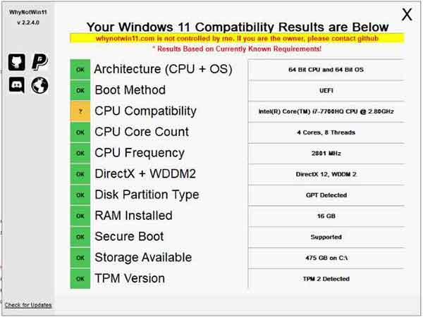 Простое решение ошибки «На этом ПК не работает Windows 11»