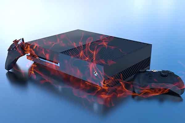 Исправить перегрев и выключение Xbox One