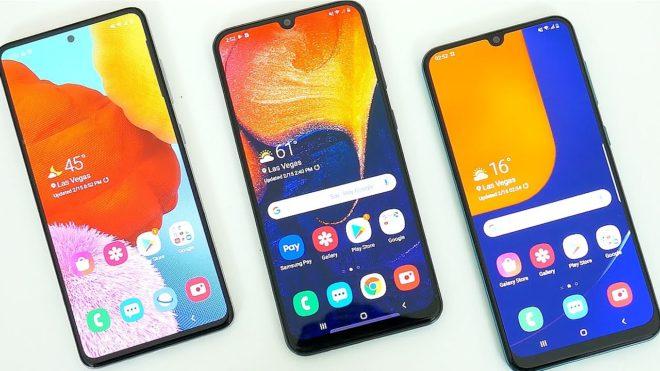 Samsung Galaxy A51 против A50s против A50: в чем различия?