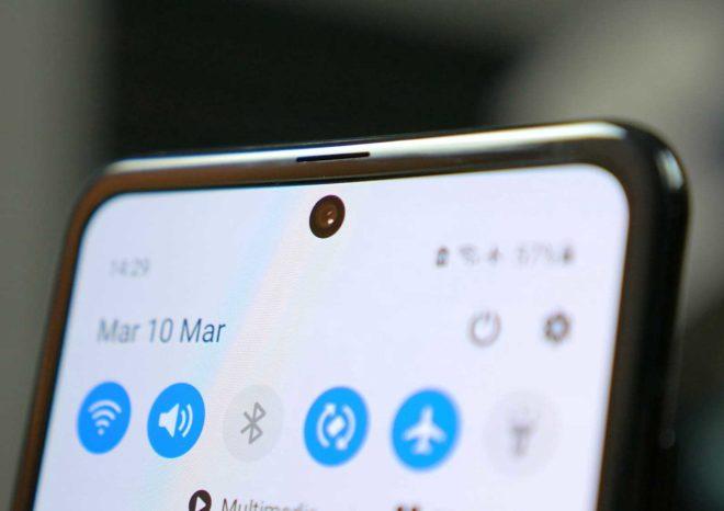 Samsung Galaxy S21 собирается выпустить с камерой под экраном
