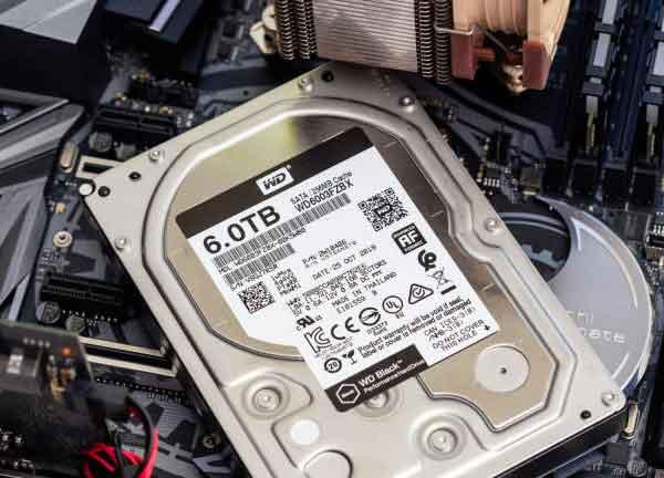 Второй жесткий диск не обнаружен в Windows 10