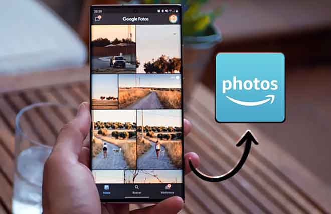 Как перенести фотографии из Google Фото в Amazon Photos