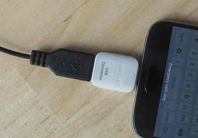 Как подключить USB-накопитель или HD к смартфону