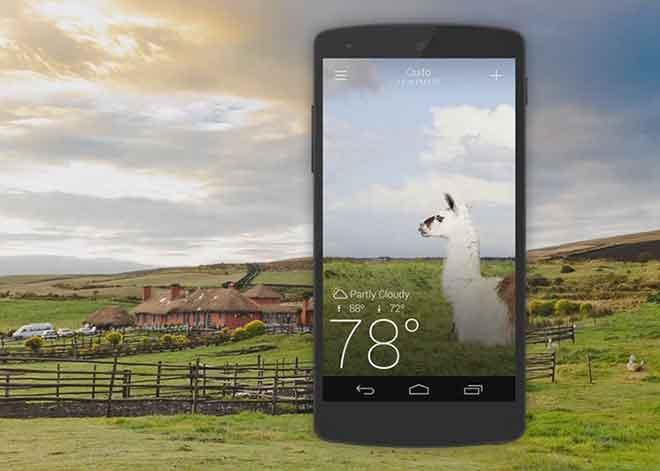Узнавайте погоду с лучшими погодными приложениями