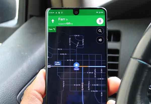 Как активировать темный режим в Google Maps