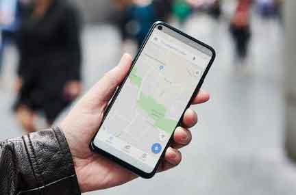 Поделиться местоположением на Google Maps