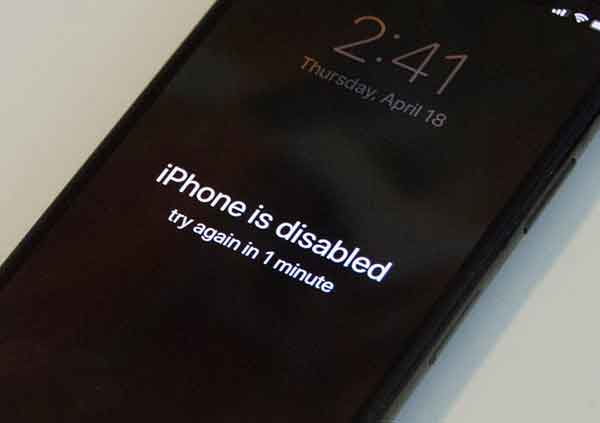 Как разблокировать отключенный iPhone