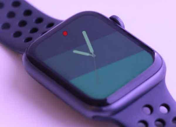Что такое красная точка на Apple Watch